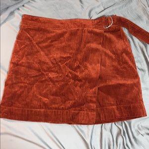 Forever 21 size M corduroy skirt